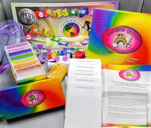 rainbow quest! game