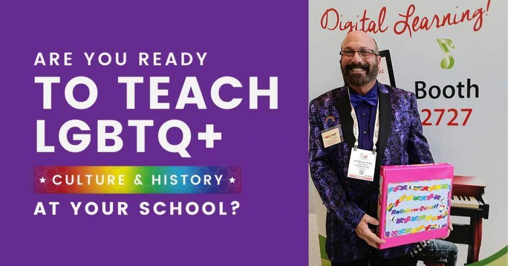 ready to teach, LGBTQ+, rainbow quest, game