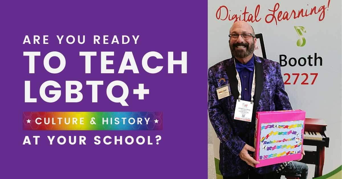 ready to teach LGBTQ+ rainbow quest