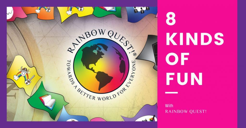 8 kinds of fun rainbow quest!