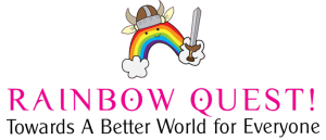 rainbow quest game logo