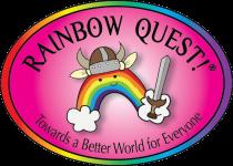 rainbow quest main logo, contact, talk, contact, order, reporting, FAQ, LGBTQ+, game, history, community